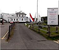 SZ3394 : Lymington Town Sailing Club by Jaggery