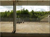 TQ6174 : HS1, Ebbsfleet International Station by David Dixon