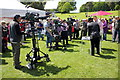 SH5269 : Recording the Antiques Roadshow at Plas Newydd by Jeff Buck