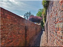 TA0432 : Church Lane, Cottingham, Yorkshire by Bernard Sharp