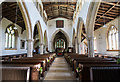 TF1135 : Interior, St Andrew's church, Horbling by J.Hannan-Briggs