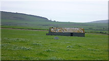 SH2035 : Old field barn from the Wales Coast Path by Jeremy Bolwell