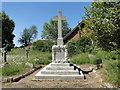 TM1192 : The war Memorial at Carleton Rode by Adrian S Pye