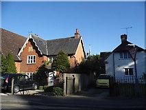 SU9567 : Houses on Church Road, Sunningdale by David Howard