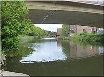 NZ2742 : View upstream from below the New Elvet Bridge on the River Wear, Durham by Derek Voller