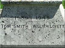 TM3973 : Roll of Honour by Keith Evans