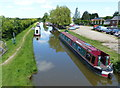 SP4932 : Narrowboats moored along the Oxford Canal by Mat Fascione