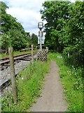 SO6302 : Railway path by Gill