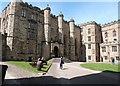 NZ2742 : Entrance to Bishop Bek's Great Hall, Durham Castle by Derek Voller