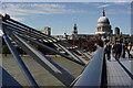 TQ3280 : The Millennium Bridge by Peter Trimming