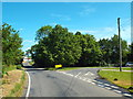TL5101 : Road junction near Toot Hill by Malc McDonald
