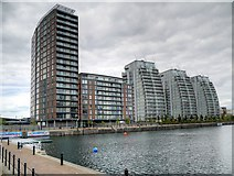 SJ8097 : City Lofts and NV Buildings by David Dixon