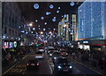 TQ2881 : Christmas on Oxford Street 3 by Anthony O'Neil