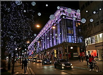 TQ2881 : Christmas Night, London 2014 by Anthony O'Neil