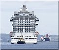 J3576 : The 'Royal Princess' arriving into Belfast by Rossographer
