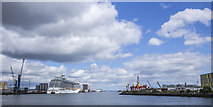 J3576 : The Victoria Channel, Belfast by Rossographer
