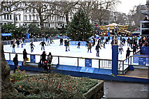 TQ2679 : Christmas Skaters by Anthony O'Neil
