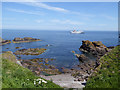 NT9464 : Small beach at Eyemouth by Oliver Dixon