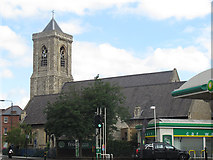 TQ2772 : Holy Trinity, Upper Tooting: south side by Stephen Craven