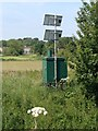 TL3256 : Weather station near Bourn by Dave Thompson