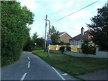 TR3451 : Cherry Lane, Great Mongeham by Chris Whippet