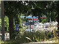 TG1909 : Service Station on the A1074 Dereham Road by Adrian Cable
