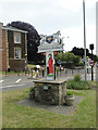 TF6103 : Downham Market town sign by Adrian S Pye