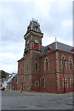 NX4355 : Clock Tower, Wigtown County Building by Billy McCrorie