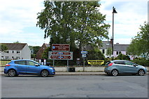 NX4355 : Signs at North Main Street, Wigtown by Billy McCrorie