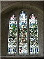SU7433 : Selborne - St.Mary's - St Francis Window by Rob Farrow