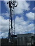 NZ3549 : Communications mast off Gillas Lane (B1404) by JThomas