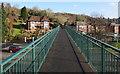 ST3089 : Across Kimberley Park footbridge, Malpas, Newport by Jaggery