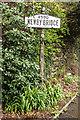 SD3786 : Pre-Worboys sign, Newby Bridge by Ian Capper