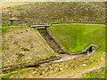 SD9915 : Dam of Spa Clough Reservoir by Trevor Littlewood