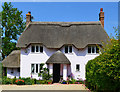 SU2787 : Village house, Compton Beauchamp, Oxfordshire by Oswald Bertram