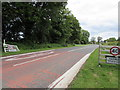 ST9897 : Kemble - please drive carefully through our village by Jaggery