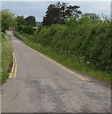 ST9897 : No parking zone, Station Road, Kemble by Jaggery