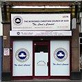 TQ3386 : Storefront church, Stoke Newington by Julian Osley