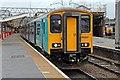 SJ7154 : Arriva Trains Wales Class 150, 150257, platform 9, Crewe railway station by El Pollock