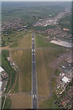 TQ8789 : Southend Airport: aerial 2015 by Chris