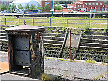 NS2875 : Disused drydock by Thomas Nugent
