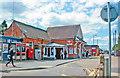 TQ7493 : Wickford station, exterior 2015 by Ben Brooksbank