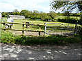 TR2954 : Gate into a paddock, Middle Heronden Farm by John Baker