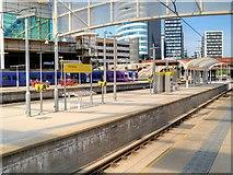 "SJ8499 : New Metrolink ""Island"" Platform at Victoria Station by David Dixon"