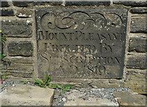 SE0722 : Datestone on Mount Pleasant by Humphrey Bolton