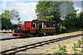 SK2405 : Statfold Barn Railway - short train by Chris Allen