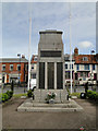 TF9813 : East Dereham War Memorial by Adrian S Pye