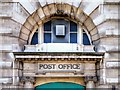 SJ8498 : Newton Street Post Office (detail) by David Dixon