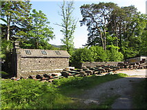 SD3787 : Slipway at Lakeside, Windermere by Gareth James