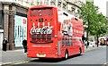 J3373 : Coca-Cola bus, Belfast (June 2015) by Albert Bridge